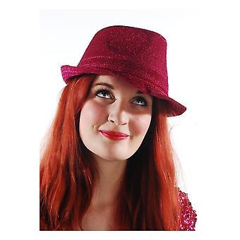 Kapelusze Mafia kapelusz różowy jasny