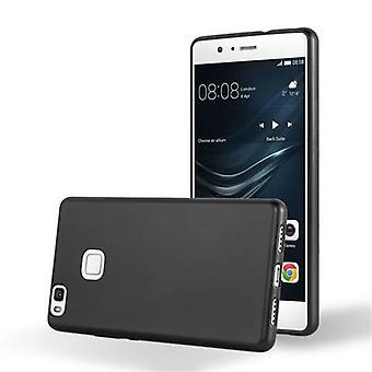 Cadorabo tilfelle for Huawei P9 LITE tilfelle deksel - Mobile TPU silikon telefonveske - silikon etui beskyttende etui ultra slank myk bakdeksel tilfelle støtfanger
