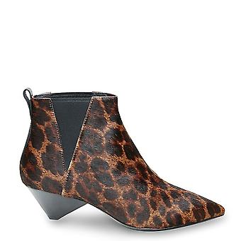 Ash COSMOS Ankle Boots Leopard Print Pony Hair
