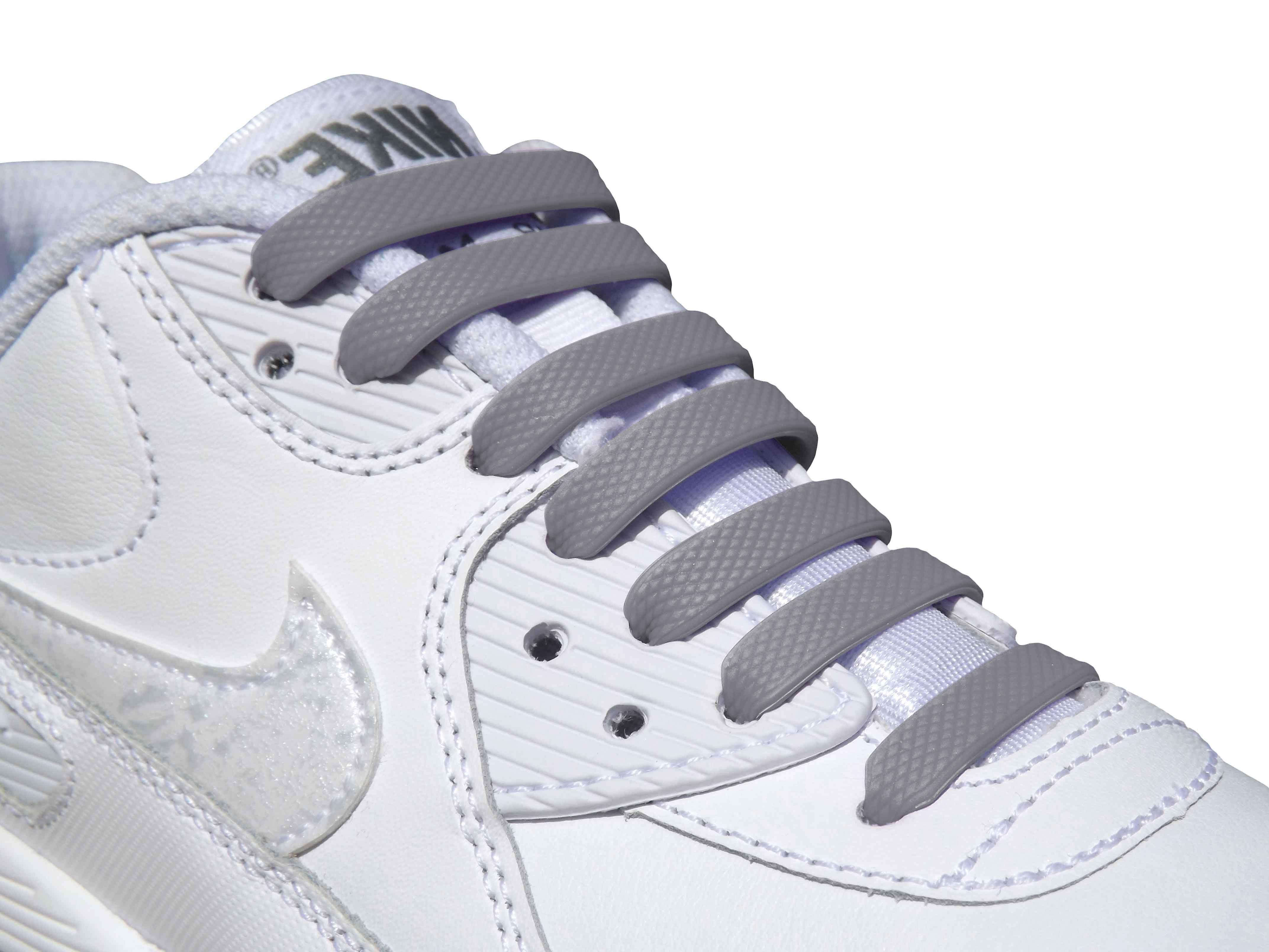Grey Adults Easy No Tie For Trainers