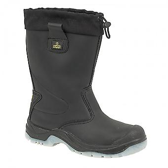 Amblers Steel FS209 Safety Pull On / Womens Ladies Boots / Riggers Safety