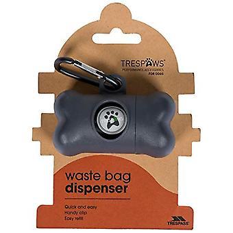 Hausfriedensbruch Kieselsteine Hund Abfall Plastiktüte Dispenser