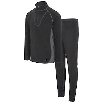 Trespass Unisex Thriller Thermal Top And Bottom Set