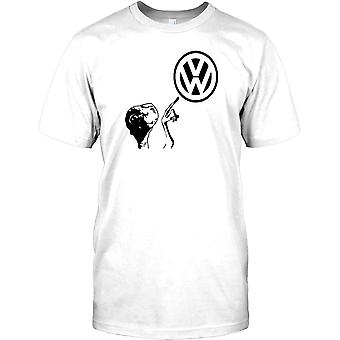 VW Slogan - Ekstrand telefon - Volkswagen inspirerade Mens T Shirt