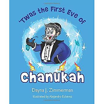 Twas the First Eve of Chanukah