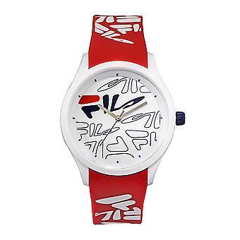Relógio de silicone Unisex relógio impressionante 38-129-206 fila masculino