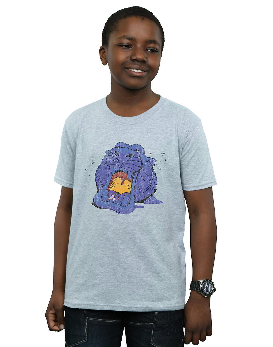 Disney Boys Aladdin Cave Of Wonders Distressed T-Shirt
