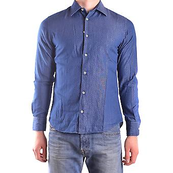 Altea Ezbc048062 Men's Blue Cotton Shirt