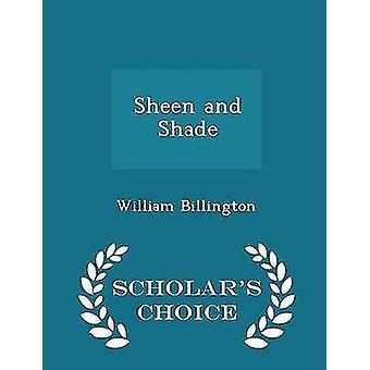 الطبعة اختيار شين والعلماء الظل بوليام & بيلينغتون