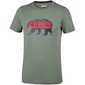 Columbia Box Logo Bear EM0745316 hommes t-shirt