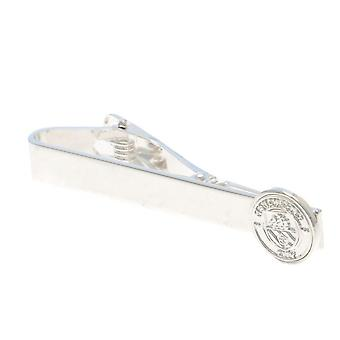 Manchester City FC cravate plaqué argent Slide