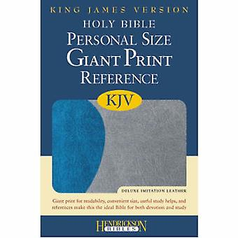 Holy Bible - King James Version (large type edition) by Hendrickson Pu