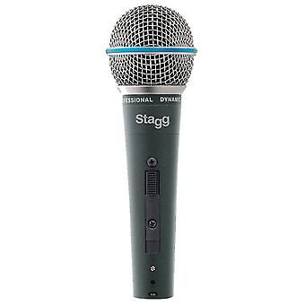 Stagg Professional Cardioid Dynamic Microphone (SDM60)