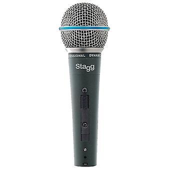 Stagg professionele nier dynamische microfoon (SDM60)