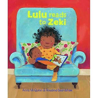 Lulu Reads to Zeki