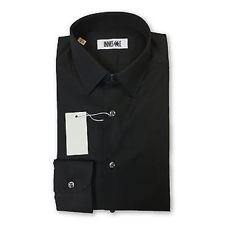Ingram slim fit shirt in black