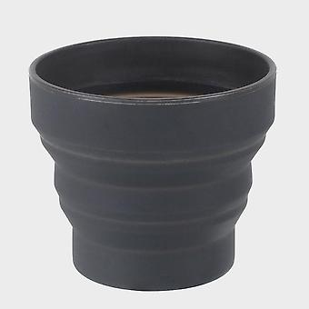 New Lifeventure Ellipse Collapsible Cup Dark Grey