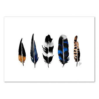 Art-Poster - Piume del Nord - Amaya Brydon 50 x 70 cm