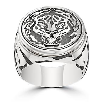 UFC Ring In Sterling Silver Design by BIXLER