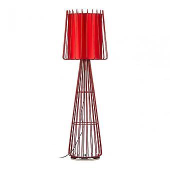 Premier Home Aria Floor Lamp, Ceramic, Red
