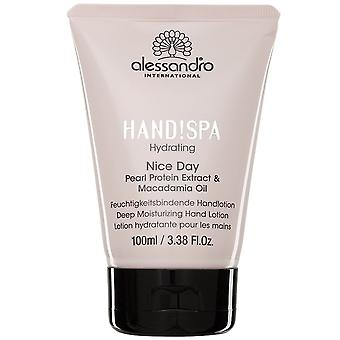Alessandro Hand!SPA Hydrating - Nice Day Deep Moisturizing Hand Lotion 100mL