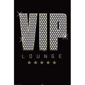 Affiche - Studio B - VIP Lounge 36x24