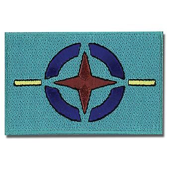 Patch - Gundam 00 - New AEU Flag Iron On Gifts Toys Anime Licensed ge4323
