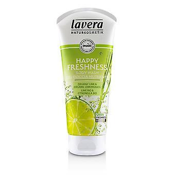 Lavera Körperwäsche - glückliche Frische Bio Kalk & Bio Zitronengras) - 200ml/6,6 Oz