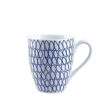 Rose & Tulipani Nador Blue Mug Net