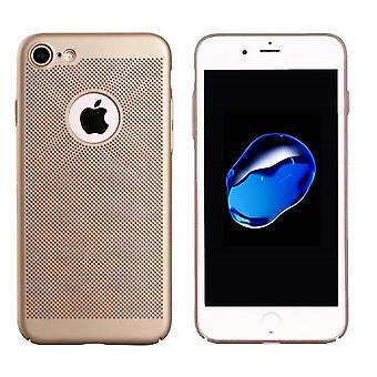iPhone 7 Plus حالة الذهب - فتحات شبكة