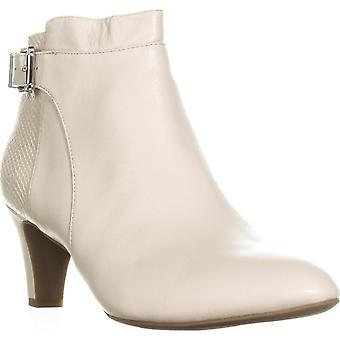 Alfani Womens läder sluten tå fotled mode stövlar