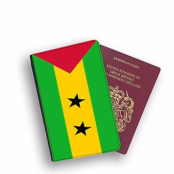 S:O TOME ET PRINCIPE Flag Passport Holder Style Case Cover Protective Wallet Flags design