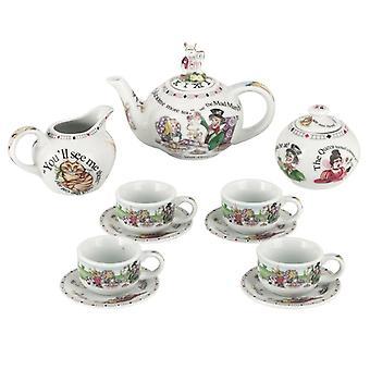 Cardew Alice in Wonderland miniatuur Collector's tea set