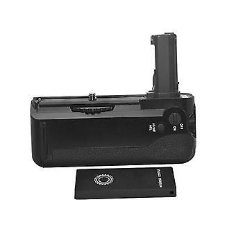 Dot.Foto remplacement batterie Grip pour Sony VG-C1EM fonctionne avec la batterie NP-FW50 et est livré avec 2,4 Ghz télécommande sans fil - Sony NEX A7, A7R, A7S