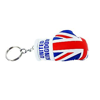 Cle Cles Key Flag Uk UK Union Jack Glove Boxing