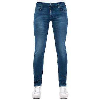 BOSS Extra Schlanke Charleston Jeans In 414 Mid Wash