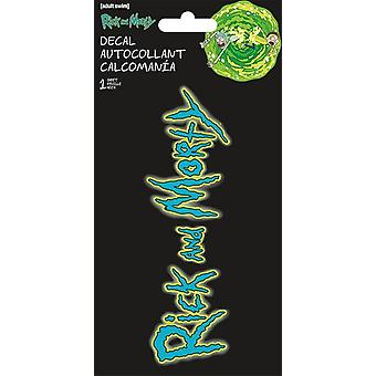 4 Color Decal - Rick & Morty - 4