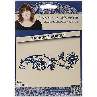 Create and Craft Metal Tattered Lace DieParadise Border