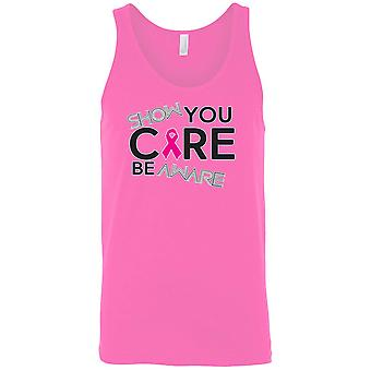 Men's Tank Top Breast Cancer Awareness Show You Care Be Aware