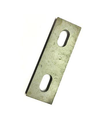 Slotted Backing Plate For M8 U-bolt (52 - 66 Mm Id) Galvanised Mild Steel