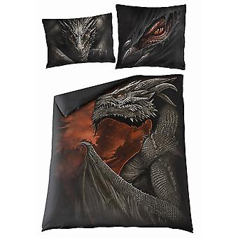 Spiral - majestic draco - double duvet cover set