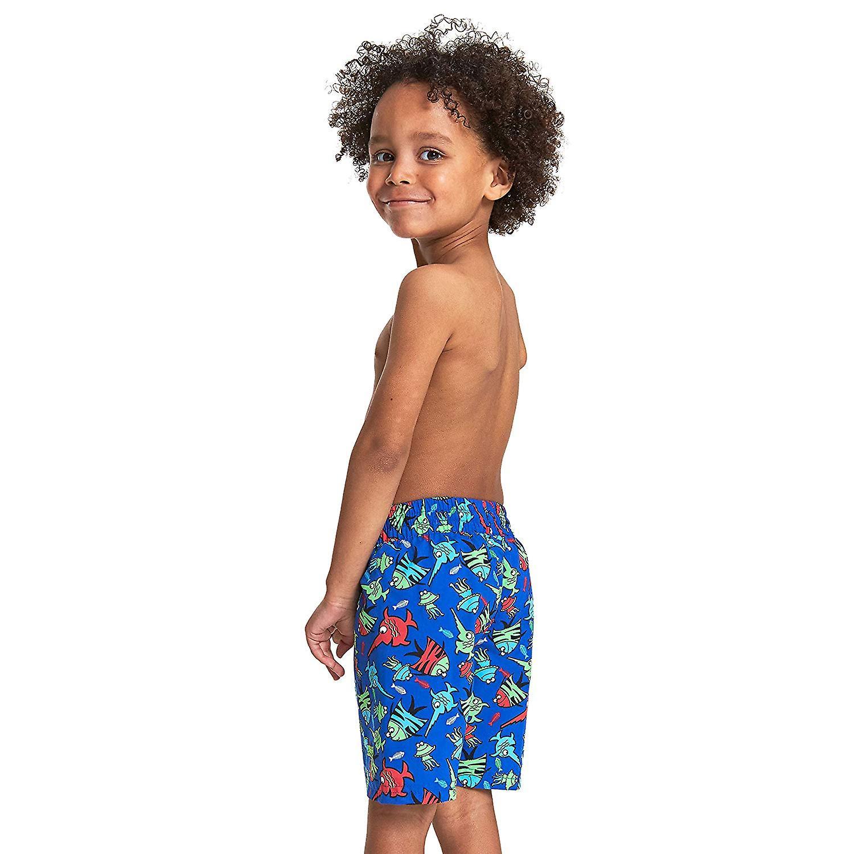 Zoggs Boys Sea Saw Water Swim Shorts - Blue/Multi