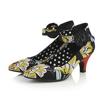 Ruby Shoo Women's Carla Kitten Heel Court Shoe