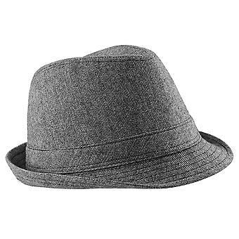 Beechfield Unisex Urban Trilby Hat (50% Wool)