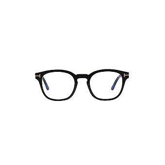 Tom Ford TF5532-B With Clip-on 01V Shiny Black/Blue