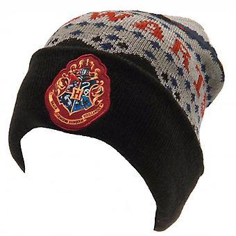 Harry Potter Knitted Hat Hogwarts BK