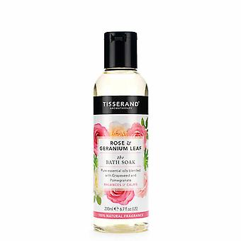 Tisserand, Rose & geranium Bath blöt 200ml