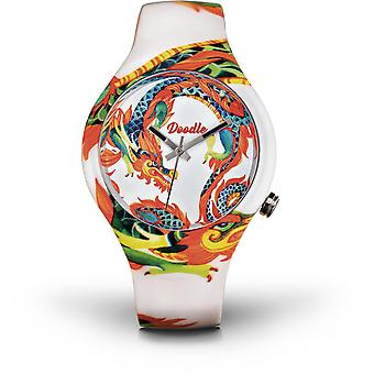 Doodle DRAGON MOOD DODR002 - watch white 39mm male/female
