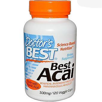Acai 500 mg (120 Veggie Caps ) - Doctor's Best