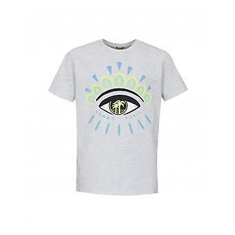 Kenzo Kids Jerome oog front en terug print T-shirt